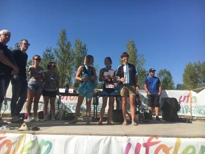 Florence Bruel 1 ere Féminine Cross Triathlon des Terres Blanches